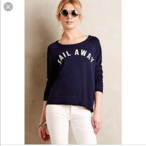 Anthropologie Sundry Sail Away Pullover Sweater